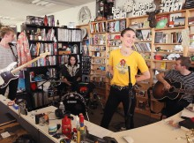 Tiny Desk Concert with Wolf Alice.